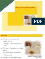 Common Industry Viscosity Classifications