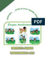 Proyecto de Juegos Tradicionales 2019