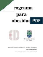 Programa para obesidad