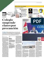 Colegio Suspende Clases Por Precaución