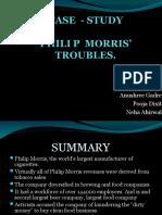 PHILIP MORRIS'     TROUBLES