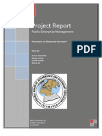 PEM Project Report