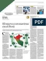 El Nuevo Coronavirus en El Perú