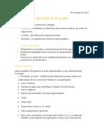 SECUENCIA DE LENGUA CLE 5º