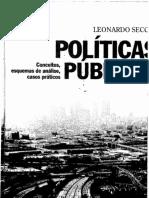 Leonardo Secchi - Políticas Públicas