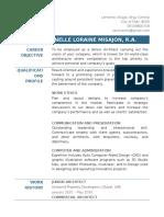 Ranelle Misajon's Resume