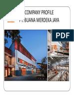 Company profile PT Buana Merdeka Jaya