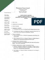 Filippello Park Field Lights and Scorebaord Project Presentation - March 10 2020