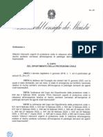 OCDPC Interpretativa Dpcm 8 marzo 2020