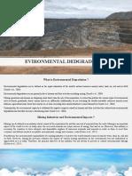 Project - Environmental Degradation