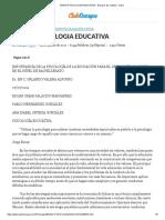 ENSAYO PSICOLOGIA EDUCATIVA - Ensayos de Calidad - eopm