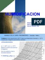 HUMIDIFICACION 2009 - II