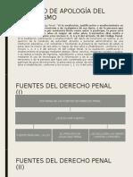 FUENTES DEL DERECHO PENAL