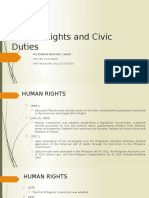 Human Rights and Civic Duties