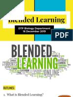 Blended Learning Lesson