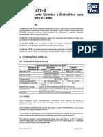 BT - SurTec 177B - Desengraxante Químico e Eletrolítico para Zamac, Cobre e Latão