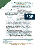 40.-MODELO DE ESCRITO INTERPONIENDO RECURSO DE APELACIÓN CONTRA SENTENCIA CONDENATORIA POR DELITO DE HOMICIDIO CALIFICADO