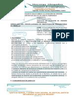 12.-MODELO DE ESCRITO SOLICITANDO LA CESACIÓN DE PRISIÓN PREVENTIVA EN DELITO DE HURTO AGRAVADO
