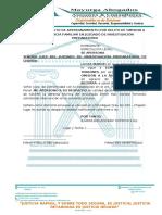19.-MODELO DE ESCRITO DE APERSONAMIENTO POR DELITO DE OMISION A LA ASISTENCIA FAMILIAR EN JUZGADO DE INVESTIGACIÓN PREPARATORIA