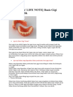 DENTISTRY LIFE NOTE