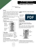 1. Manual de Instalación - Tableros Centro de Carga - Marca GE