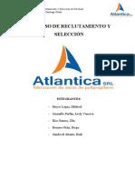 PROCESO DE RECLUTAMIENTO Y SELECCIÓN - ATLANTICA