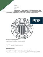 A multiobjective model for passive portfolio management