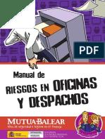 MANUALES PREVENCIÓN - OFICINAS Y DESPACHOS
