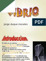 VIDRIO DISEÑO DE MAQUINAS