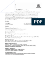 The MDG Advocacy Group - List of Members
