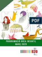 Agenda infantil març