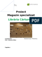 Proiect Magazin Specializat - Libraria Carturesti