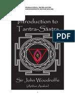 Introducción al Tantra-Sastra- español