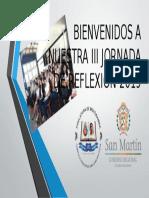 BIENVENIDOS A NUESTRA III JORNADA DE REFLEXIÓN