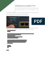 Password Recovery en un Switch Cisco