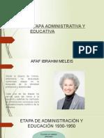 Etapa Administrativa y educativa enfermeria