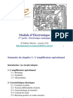 Cours Electronique Analogique Ch 2 AO