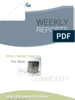 Bullion Commodity Reports for the Week (13th - 17th December - 2010)