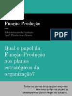 Adm da Produção - objetivos da produção