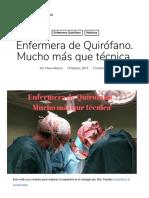 Enfermera de Quirófano