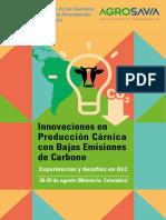 Innovaciones en Producción cárnica con bajas emisiones de carbono