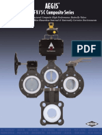 Composited Lined Butterfly Valves (Series BFVSC)