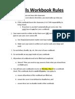 lifeskills workbook rules