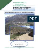 3. Plan de Desarrollo Comunal de Pachaconas-convertido