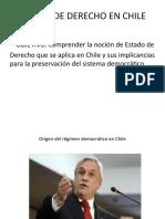ESTADO DE DERECHO EN CHILE 4to medio