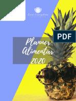 Planner Alimentar 2020 gratuito