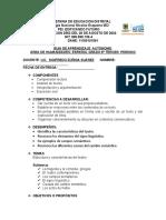 ESPAÑOL 6 - PERIODO 3 - SIGIFREDO