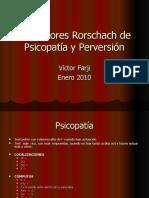 Indicadores Rorschach de Psicopatía y Perversión.ppt