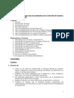 9.- Funciones de los cargos por designación en la Escuela Ramal