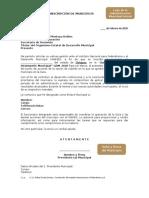 Formato Inscripción Municipio GDM